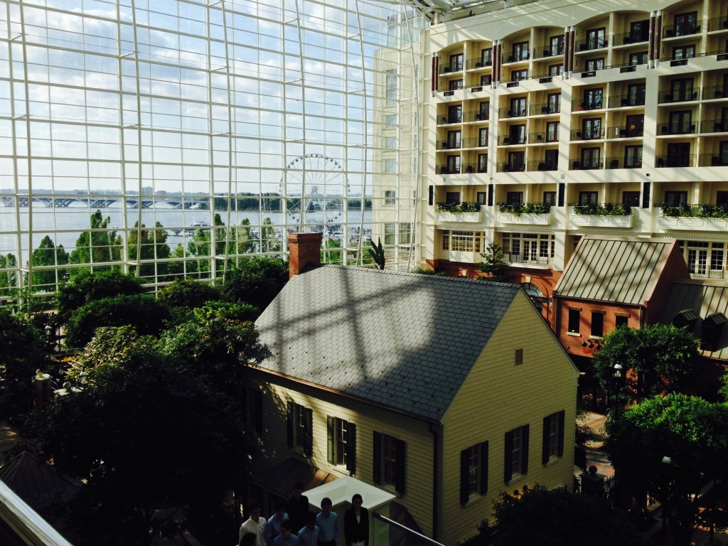 The interior of the Gaylord Convention Center, the venue of the 2014 TSA National Conference.